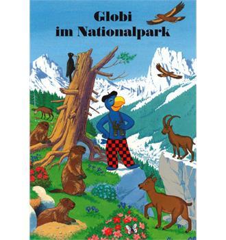 Globi im Nationalpark Buch