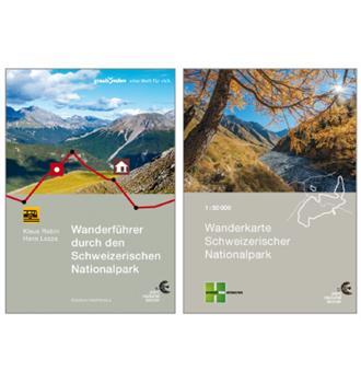 Kombipack Wanderkarte und Wanderführer deutsch