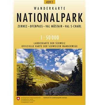 Wanderkarte Nationalpark