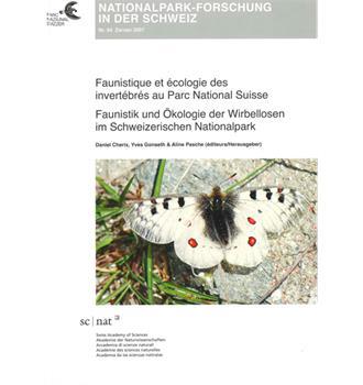 Faunistik und Ökologie der Wirbellosen im Schweizerischen Nationapark