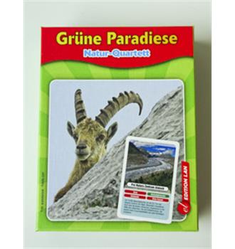 "Quartett ""Grüne Paradiese"""