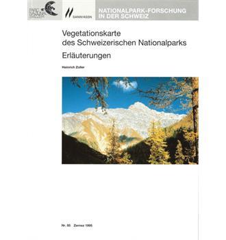 Vegetationskarte des Schweizerischen Nationalparks Erläuterungen (Bd 85)