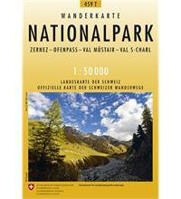 Carte de randonnée Parc National