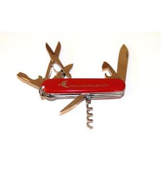 Couteau de poche avec logo PNS