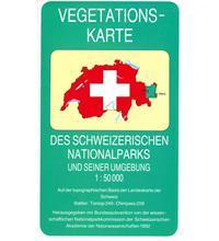 Vegetationskarte des Schweizerischen Nationalparks