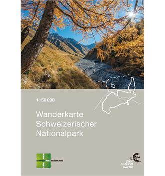 Carta escursionistica Parco Nazionale Svizzero
