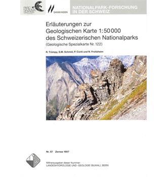 Geologische Karte des Schweizerischen Nationalparks Erläuterungen