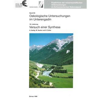 Ökologische Untersuchungen im Unterengadin (Bd 12)